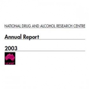 Image: NDARC Annual Report 2003