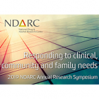 2019 NDARC Annual Research Symposium banner